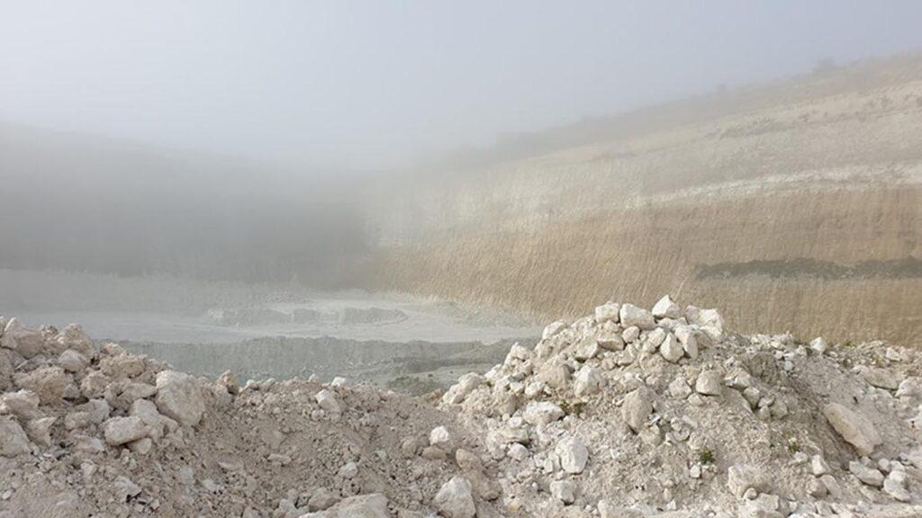 "Kridtbruddet ""Mandehoved"" nær Stevns Klint"